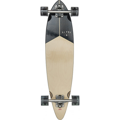 "Globe Pintail 34"" Longboard - Walnut/Black"