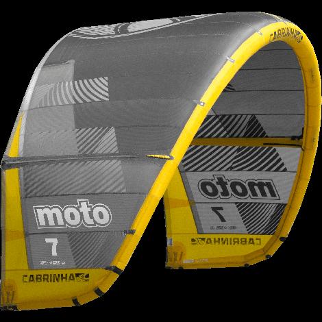 Cabrinha Moto 2019 Kite Only Grey/Yellow