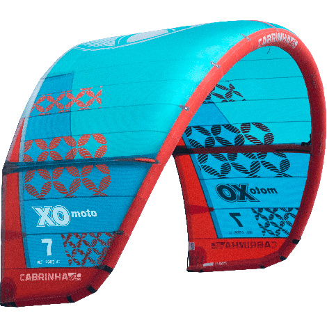 Cabrinha XO Moto 2019 Kite Only Blue/Red