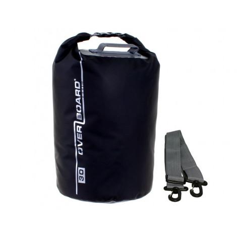 Overboard Dry Tube Zwart - 30 liter