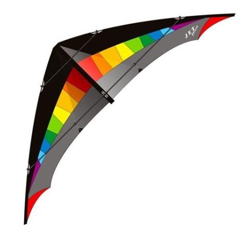 Elliot Jet Stream Reloaded Rainbow - Black Stunvlieger