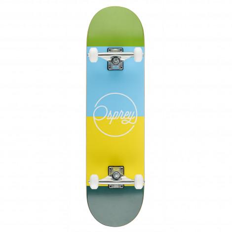 "Osprey Blocks 8"" Double Kick Skateboard"