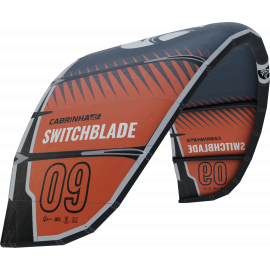 Cabrinha Switchblade 2021 Kite Only Zwart Rood