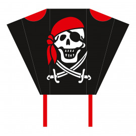 HQ Pocketsled Jolly Roger | Kindervlieger