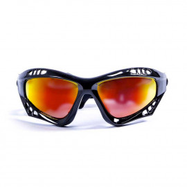 Ocean Australia Shiny Black+Revo Watersport Zonnebril