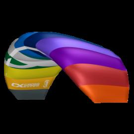 CrossKites Air Rainbow 2-lijns Matrasvlieger 2018 1.2-1.5