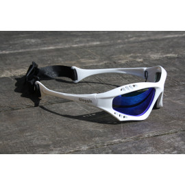 Glogglz Finz wit watersport zonnebril