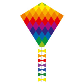 HQ Eco Line Eddy Rainbow Patchwork 50 cm R2F