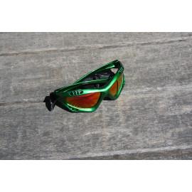 Glogglz Rayz groen watersport zonnebril