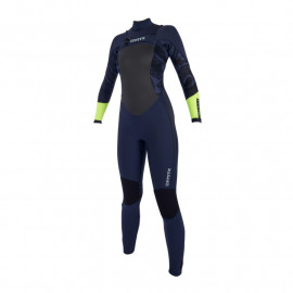 Mystic Diva 5/3 Double Frontzip Navy/Lime wetsuit 2019