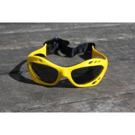Glogglz Rayz geel watersport zonnebril