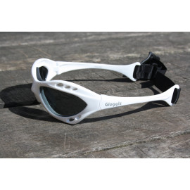 Glogglz Rayz wit watersport zonnebril