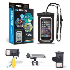 Seawag Bundle pack: Waterdicht telefoonhoesje + Accessoires
