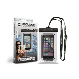 "Seawag waterdicht telefoonhoesje White & Black 5,7"""