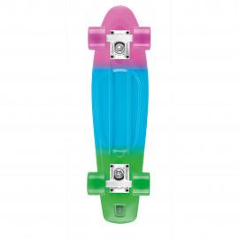 """Osprey Dip Dye 27"""" Retro Plastic Skateboard - SK0035"""