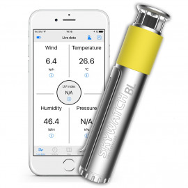 Skywatch windmeter BL300 voor smartphone met bluetooth