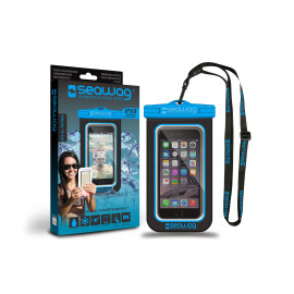 "Seawag waterdicht telefoonhoesje Blue & Black 5,7"""