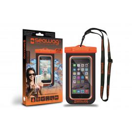 "Seawag waterdicht telefoonhoesje Orange & Black 5,7"""