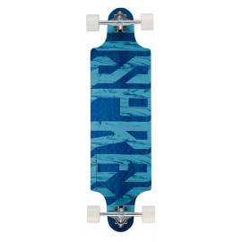"38"" Twin Tip Longboard - Text"