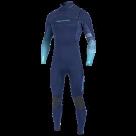 Neilpryde Mission Fullsuit Wetsuit 3/2 Frontzip Navy/Blue 2020