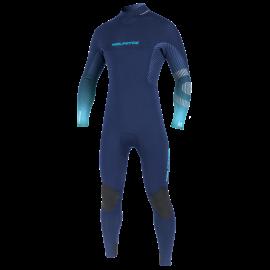Neilpryde Mission Fullsuit Wetsuit 4/3 Backzip Navy/Blue 2020