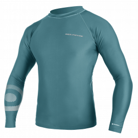 Neilpryde Rashguard Mission L/S hot teal/legion blue 2020