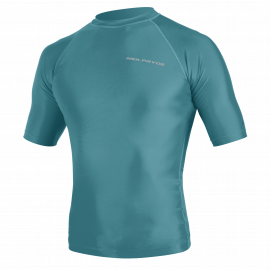 Neilpryde Rashguard Mission S/S hot teal/legion blue 2020