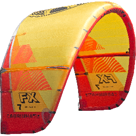 Cabrinha FX 2019 Kite Only Yellow/Red